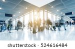 rush hour at a airport. germany | Shutterstock . vector #524616484