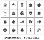 drink icons   Shutterstock .eps vector #524619868