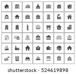 building icons | Shutterstock .eps vector #524619898
