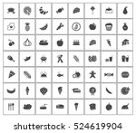 food icons | Shutterstock .eps vector #524619904