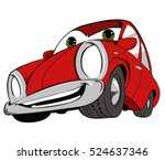 vector cartoon car illustration ...