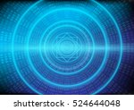 abstract information and the... | Shutterstock .eps vector #524644048