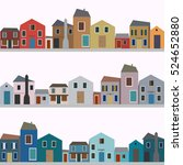 set of different colorful...   Shutterstock .eps vector #524652880