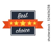 best choice web icon.best... | Shutterstock .eps vector #524656258