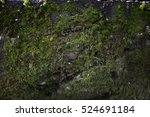 Old Stone Wall Texture With...
