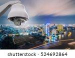 cctv monitoring  security...   Shutterstock . vector #524692864
