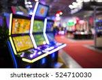 Blurry Image Of Slots Machines...