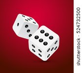 Dice Vector Design Isolated On...