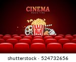 movie cinema premiere poster... | Shutterstock .eps vector #524732656