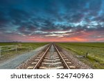 Disappearing Railroad On The...