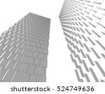 abstract architecture | Shutterstock .eps vector #524749636