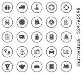 shipping icons | Shutterstock .eps vector #524760598