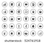 drink icons | Shutterstock .eps vector #524761918