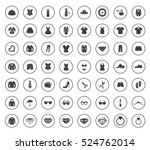 fashion icons | Shutterstock .eps vector #524762014