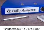 facility management   blue... | Shutterstock . vector #524766100