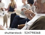 people meeting seminar office... | Shutterstock . vector #524798368