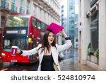 business beautiful woman...   Shutterstock . vector #524810974