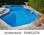 swimming pool. | Shutterstock . vector #524812276