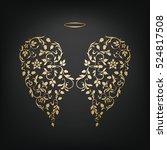 Angel Design Elements   Golden...