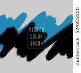 vector color brush | Shutterstock .eps vector #524823220