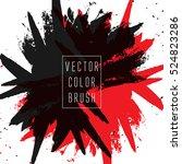 vector color brush | Shutterstock .eps vector #524823286