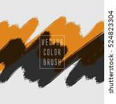 vector color brush | Shutterstock .eps vector #524823304