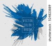 vector color brush | Shutterstock .eps vector #524823889