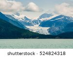 glacier and mountain view from... | Shutterstock . vector #524824318