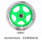 alloy wheels | Shutterstock . vector #524830618