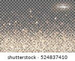 christmas background. flare... | Shutterstock .eps vector #524837410