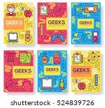 It Geeks Vector Brochure Cards...