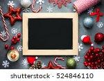 christmas xmas new year holiday ...   Shutterstock . vector #524846110