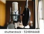 Studio Microphone Closeup.
