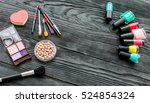 make up and beauty | Shutterstock . vector #524854324