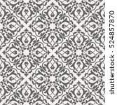seamless vintage pattern for... | Shutterstock .eps vector #524857870