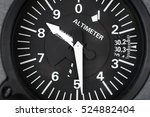 Small photo of Aircraft Altimeter