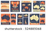 Vector Set Of Various Australi...