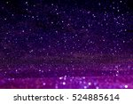 purple abstract background with ... | Shutterstock . vector #524885614