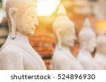 worship of thailand buddha... | Shutterstock . vector #524896930