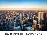 view of toronto city from above ... | Shutterstock . vector #524934373