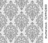 Damask Seamless  Ornamental...