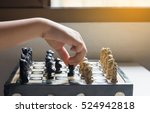 Chess Figure  Business Concept...
