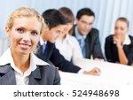 portrait of happy smiling... | Shutterstock . vector #524948698