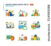 education  creativity  business ... | Shutterstock .eps vector #524985088