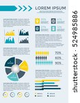 infographic elements collection ... | Shutterstock .eps vector #524985886