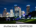 A View Of Downtown Houston At...