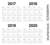 simple calendar template for