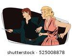 stock illustration. people in... | Shutterstock .eps vector #525008878