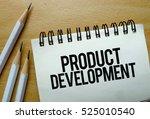 product development text... | Shutterstock . vector #525010540