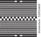 native american pattern... | Shutterstock . vector #525016603